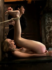 Marchs Live Show 23Tickled, flogged, foot caned, banged, squirting & vibrated to brutal orgasm