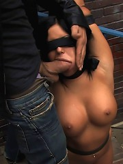Angelica Heart Returns for mor Public Bondage and Humiliation