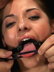 Cute girl next door is turned into ahelpless, drooling, mess of a slut, cant stop from cumming.
