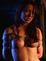 Ropes dildos and a person who uses them on her