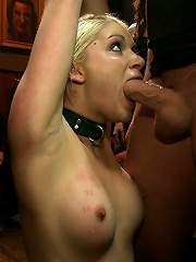 Tall Blonde Amateur Gets Fucked While Wearing Blackout Contact Lenses - She Cant See a Thing!!